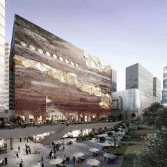 Rem Koolhaas, Hanwha Galleria Gwanggyo, tecnne