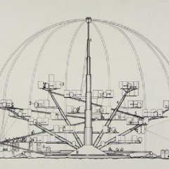 Archigram, Blow Out Village [Peter Cook, 1966] tecnne
