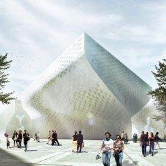 Complejo cultural en Tirana 11