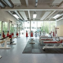 Dietmar Feichtinger Architects, 241 Sports Center Hector Berlioz, tecnne
