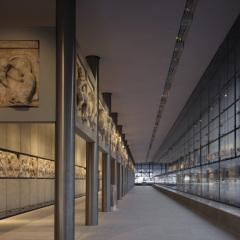 Museo Acropolis, Bernard Tschumi, tecnne
