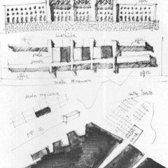 Aldo Rossi, Palazzo della Regione Trieste, tecnne
