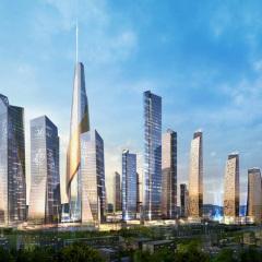 Daniel Libeskind, Archipielago 21 Yongsan, tecnne