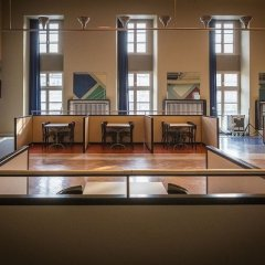 Theo Van Doesburg, Café Aubette, tecnne