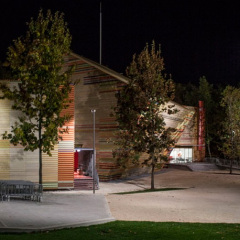 Auditorio L'Aquila, Renzo Piano, tecnne