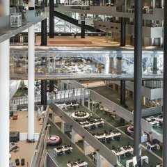 OMA, Axel Springer Campus, tecnne