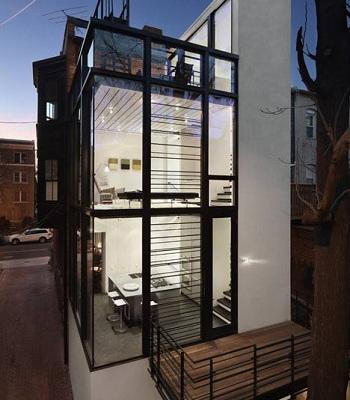David Jameson, Barcode house, tecnne
