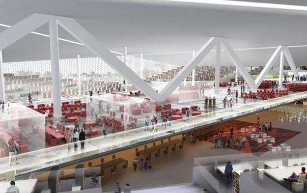 Koolhaas presenta el proyecto para la biblioteca de qatar for Biblioteca arquitectura