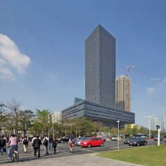 OMA, Shenzhen Stock Exchange HQ, tecnne
