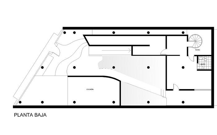 Planos de Casa Curutchet   TECNNE - Arquitectura y contextos
