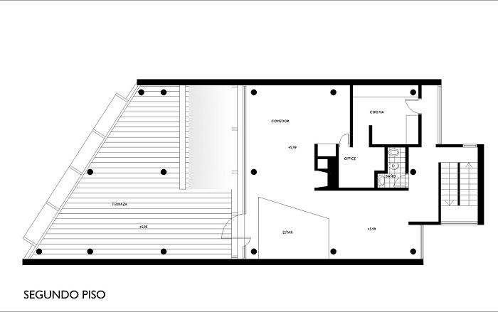 Planos de casa curutchet tecnne arquitectura y contextos for Arquitectura de casas modernas planos