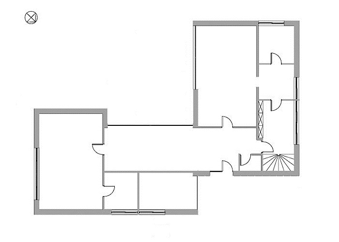 Mies van der rohe perl house ground floor plan - Casa perls mies van der rohe ...