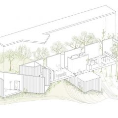 UID Architects, Casa Nodo, tecnne