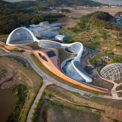 Grimshaw + Samoo, Ecorium of the National Ecological Institute, tecnne