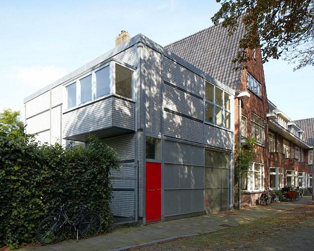 Gerrit rietveld casa del chofer tecnne arquitectura y for Costo del garage a 2 piani