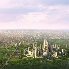 Adrian Smith + Gordon Gill, Chengdu Tianfu Great City, tecnne