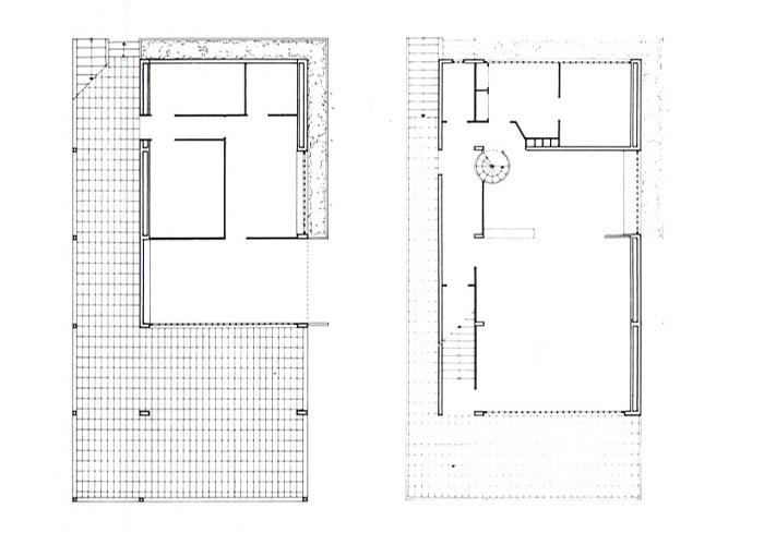 Le Corbusier, Casas Citrohan   TECNNE - Arquitectura y contextos
