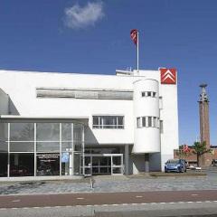 Jan Wils, Garage Citrohën Amsterdam, tecnne