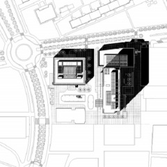 Richard Meier, City Green Court, tecnne