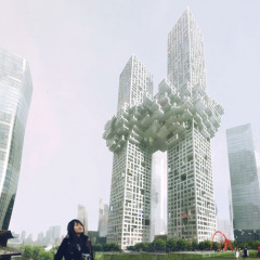 MVRDV, The Cloud, tecnne