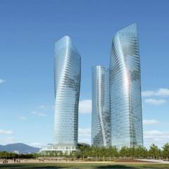 Daniel Libeskind, Dancing Towers, tecnne