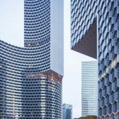 Ole Scheeren, DUO Twin Towers, tecnne