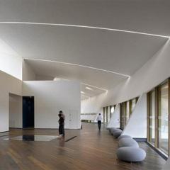 Rafael Viñoly, Centro de Artes visuales Firstsite, tecnne