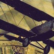 Tato Guglielmo Sansoni, Volar sobre el Coliseo en espiral, 1930.