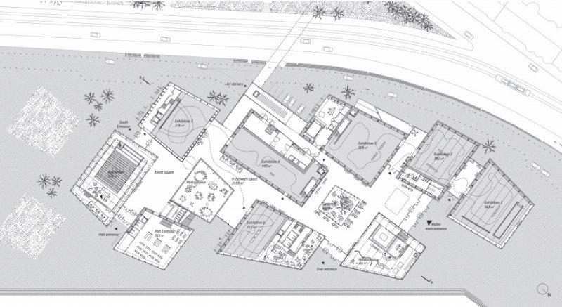 Pabellones cohesionados tecnne arquitectura y contextos for Moreau kusunoki