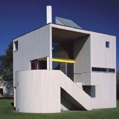 Gwathmey Siegel, Casa Gwathmey, tecnne