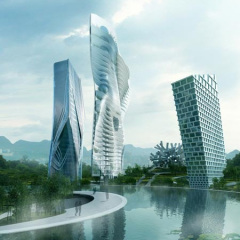 MAD, Huaxi City Centre, tecnne