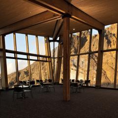 Harris Butt Architecture , Café Knoll Ridge, tecnne