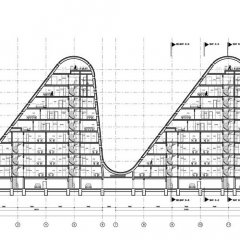 Henning Larsen, The Wave, tecnne