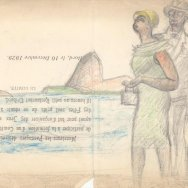 3. Le Corbusier and Joséphine Baker, Sketcbook B4, South America, 1929 FLC ADAGP