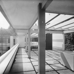 Le Corbusier, Villa Church, tecnne