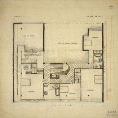 Le-Corbusier-Villa-Ocampo-planta-segunda-tecnne