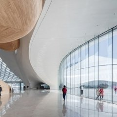 MAD Architects, Harbin Cultural Center, tecnne