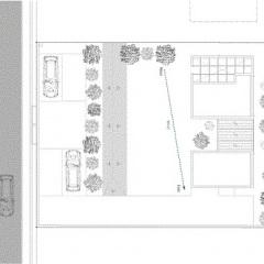 Hayatu Komatsu, Casa en Masaki, tecnne