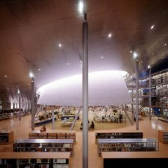 Mecanoo, Library Delft University of Technology, tecnne
