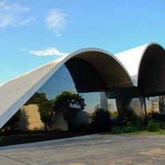 Oscar Niemeyer, Memorial de America Latina, Auditorio, tecnne