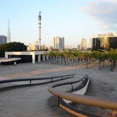 Oscar Niemeyer, Memorial de America Latina, Plaza Cívica, tecnne