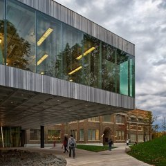 OMA, Milstein Hall at Cornell University, tecnne