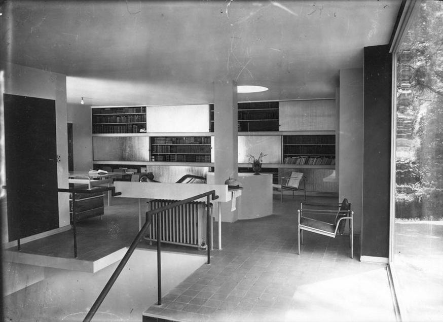 le corbusier mobiliario para villa church tecnne arquitectura y contextos. Black Bedroom Furniture Sets. Home Design Ideas