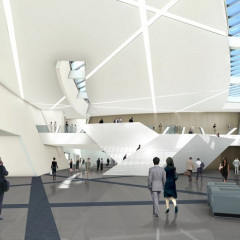 Daniel Libeskind, Centro de Convenciones en Mons, tecnne