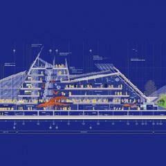 MuSe, Renzo Piano, tecnne