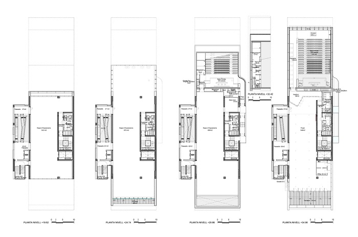 Un edificio dos perfiles urbanos tecnne arquitectura for Diseno de interiores barcelona universidad
