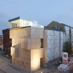 Tchoban & Kuznetsov, Museum for Architectural Drawing, tecnne