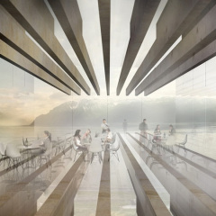 Mauro Turin Architectes, Wine Museum Proposal, tecnne
