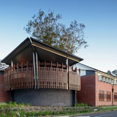 Fulton Trotter Architects, Nudgee Junior College, tecnne