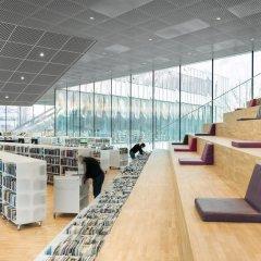 OMA + Barcode Architects, Bibliothèque Alexis de Tocqueville, tecnne